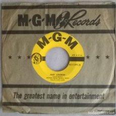 Discos de vinilo: ARTHUR (GUITAR BOOGIE) SMITH. JUST LOOKIN/ FIDDLE-FADDLE. MGM, USA 1952 SINGLE. Lote 276095448
