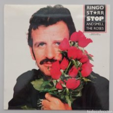 Discos de vinilo: RINGO STARR - STOP AND SMELL THE ROSES - LP. Lote 276099958