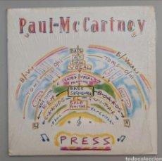 Discos de vinilo: PAUL MCCARTNEY - PRESS - MAXI. Lote 276100713