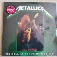 Discos de vinilo: METALLICA - THE CALL OF KTULU IN KOLN 1984 - 2LP. Lote 276111273