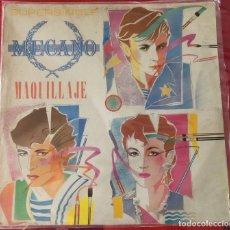 """Discos de vinilo: MECANO - MAQUILLAJE, MAXI SINGLE 12"""" PRIMERA EDICIÓN 1982. Lote 276113888"""