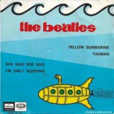 Discos de vinilo: THE BEATLES YELLOW SUBMARINE EMI ODEON 1966. Lote 276117793