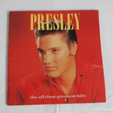 Discos de vinilo: ELVIS PRESLEY - THE ALL TIME GREATEST HITS - DOBLE LP. Lote 276118773