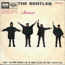 Discos de vinilo: THE BEATLES HELP EMI ODEON 1965. Lote 276141343