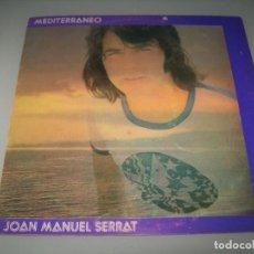 Discos de vinil: JOAN MANUEL SERRAT - MEDITERRANEO ..LP DEL AÑO 1971 - CARPETA ABIERTA ..1ªEDICION NOVOLA. Lote 276143098