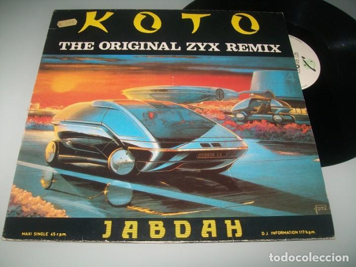 KOTO : JABDAH - ITALO DISCO ..MAXISINGLE DE 1987 - KEY RECORDS - BUEN ESTADO (Música - Discos - LP Vinilo - Disco y Dance)