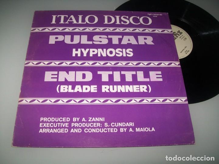 HYPNOSIS - PULSTAR - END TITTLE ( BLADE RUNNER ) - MAXISINGLE DE 1983 POP - ITALO-DANCE (Música - Discos de Vinilo - Maxi Singles - Disco y Dance)