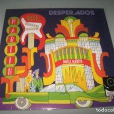 Discos de vinilo: DESPERADOS - MARTIN MOTEL ..LP - NUEVO PRECINTADO - ORIGINAL DE 1992 - REEDICION ION ..LP+CD. Lote 276154313