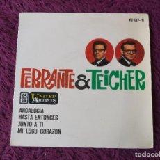 "Discos de vinilo: FERRANTE & TEICHER – ANDALUCIA + 3 ,VINYL 7"" EP 1962 SPAIN HU 067-76. Lote 276168653"