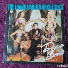 "Discos de vinilo: THE FRANK BARBER ORCHESTRA – DISCO BOND ,VINYL 7"" 1983 SPAIN OOX-614. Lote 276169993"