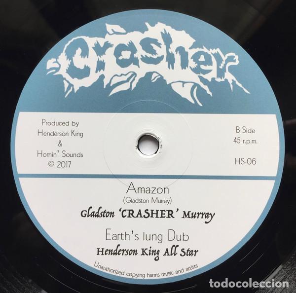 "Discos de vinilo: Crasher - Queen Of The Nile - 12"" [Crasher / Hornin Sounds, 2017] Roots Reggae Dub - Foto 4 - 276192943"