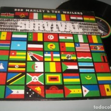 Discos de vinilo: BOB MARLEY & THE WAILERS - SURVIVAL ..LP ORIGINAL ESPAÑOL - 1979 - ISLAND. Lote 276194888