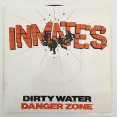Discos de vinilo: THE INMATES – DIRTY WATER / DANGER ZONE, UK 1979 SOHO RECORDS. Lote 276196583