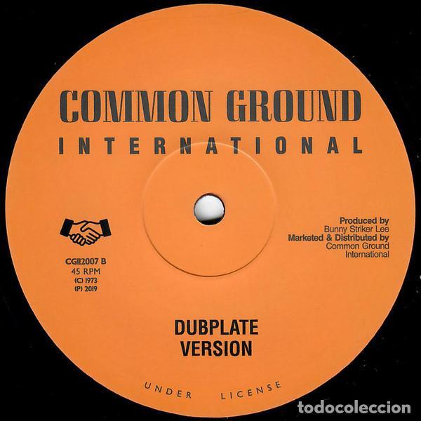 "Discos de vinilo: Cornell Campbell - Jah Jah Me Horn Yah - 12"" [Common Ground International, 2019] Roots Reggae Dub - Foto 2 - 276203113"