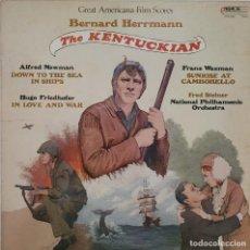 Discos de vinilo: THE KENTUCKIAN Y VARIOS MÁS. BERNARD HERRMANN. Lote 276203573