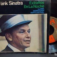 Discos de vinilo: EP FRANK SINATRA-EXTRAÑOS EN LA NOCHE+ 3 - REPRISE 1966 PEPETO. Lote 276207188