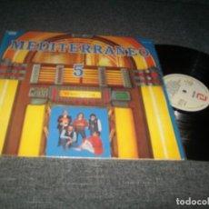 Disques de vinyle: MEDITERRÁNEO - 5 - LP DE 1983 - ZAFIRO - INCLUYE DIME QUÉ BEBES, MALA REPUTACIÓN, ETC. Lote 276211198