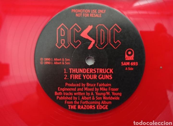 Discos de vinilo: AC/DC - THE RAZORS EDGE - MÁXI - Foto 2 - 276212573