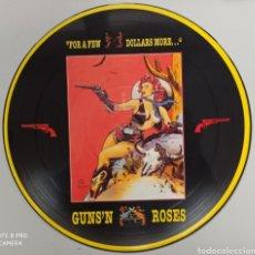 Discos de vinilo: GUNS 'N ROSES - FOR A FEW DOLLARS MORE - LP. Lote 276220343