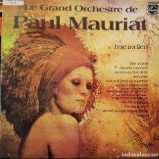 Disques de vinyle: PAUL MAURIAT - L´ETE INDIEN. Lote 276221033