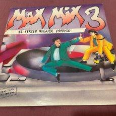 Discos de vinilo: MAX MIX 3 - 2XLP 1985 - EL TERCER MEGAMIX ESPAÑOL. Lote 276222388