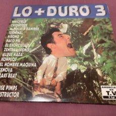 Discos de vinilo: LO + DURO 3 - 2XLP (1994). Lote 276223063