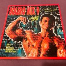 Discos de vinilo: BOLERO MIX 9 - 2XLP. Lote 276223398