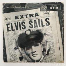 Discos de vinilo: ELVIS PRESLEY – ELVIS SAILS, UK 1958 RCA VICTOR. Lote 276225558