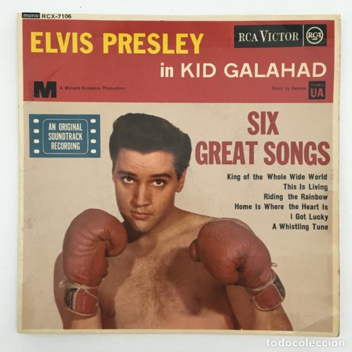 ELVIS PRESLEY – KID GALAHAD, UK 1963 RCA (Música - Discos de Vinilo - EPs - Rock & Roll)