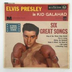 Discos de vinilo: ELVIS PRESLEY – KID GALAHAD, UK 1963 RCA. Lote 276225668