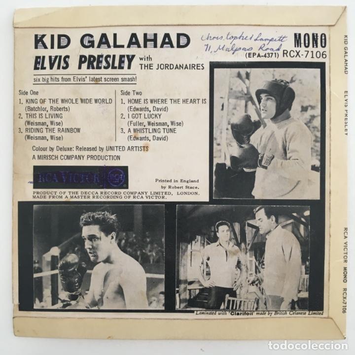 Discos de vinilo: Elvis Presley – Kid Galahad, UK 1963 RCA - Foto 2 - 276225668