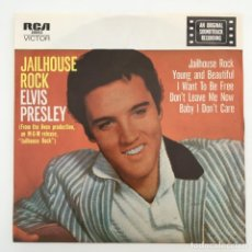 Discos de vinilo: ELVIS PRESLEY – JAILHOUSE ROCK, AUSTRALIA RCA VICTOR. Lote 276225833