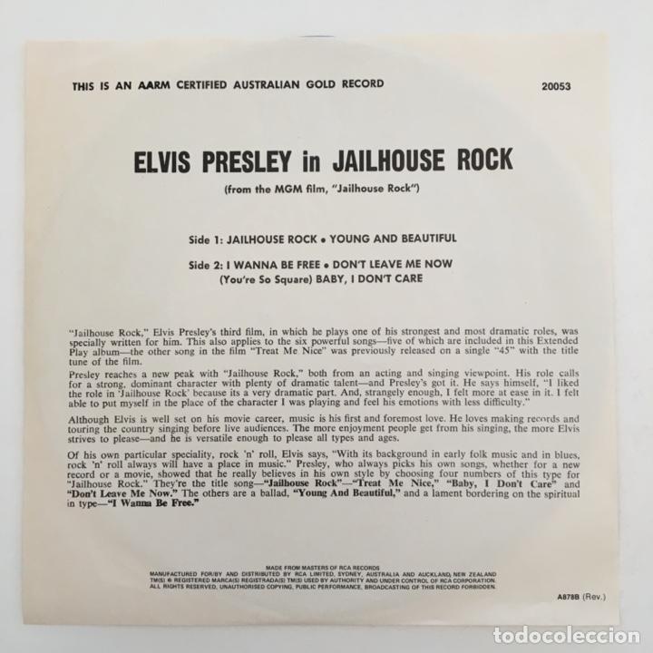 Discos de vinilo: Elvis Presley – Jailhouse Rock, Australia RCA Victor - Foto 2 - 276225833
