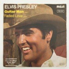Discos de vinilo: ELVIS PRESLEY – GUITAR MAN, GERMANY 1981 RCA VICTOR. Lote 276226293