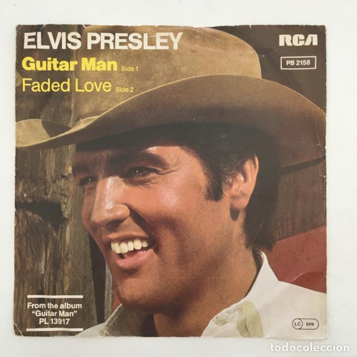 Discos de vinilo: Elvis Presley – Guitar Man, Germany 1981 RCA Victor - Foto 2 - 276226293