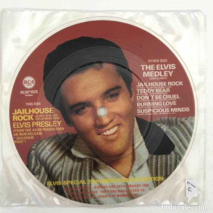 ELVIS PRESLEY – JAILHOUSE ROCK, UK 1983 RCA (Música - Discos - Singles Vinilo - Rock & Roll)