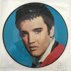 Discos de vinilo: ELVIS PRESLEY – BABY I DON'T CARE, UK 1983 RCA. Lote 276226658