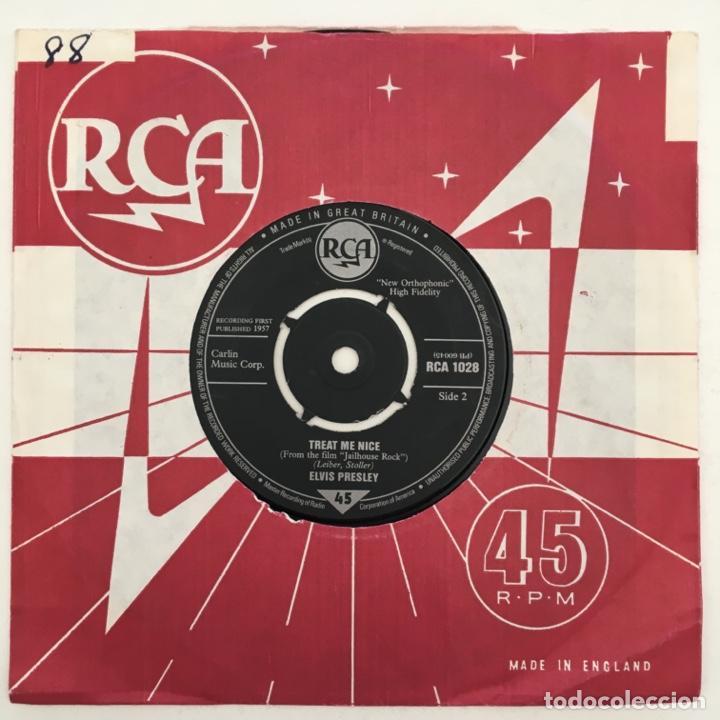 ELVIS PRESLEY – JAILHOUSE ROC, UK 1983 RCA (Música - Discos - Singles Vinilo - Rock & Roll)