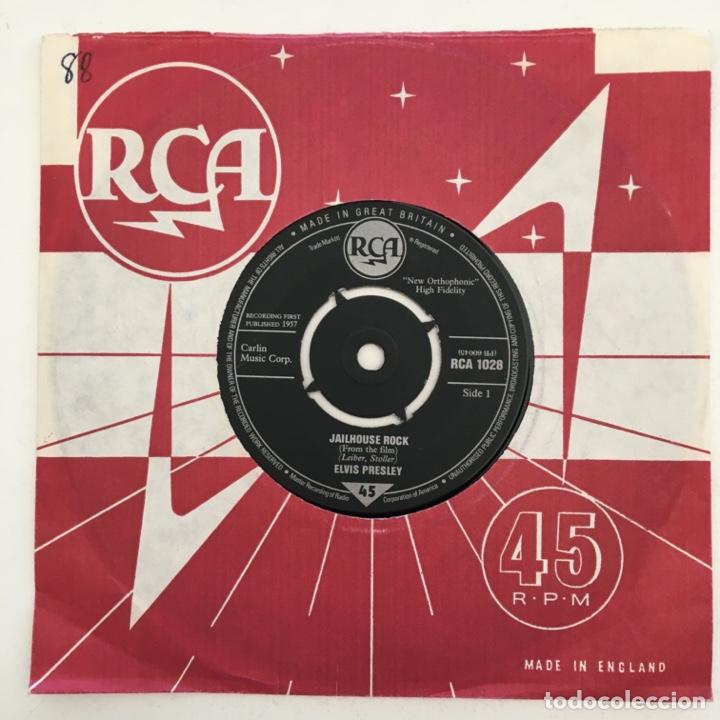 Discos de vinilo: Elvis Presley – Jailhouse Roc, UK 1983 RCA - Foto 2 - 276227508