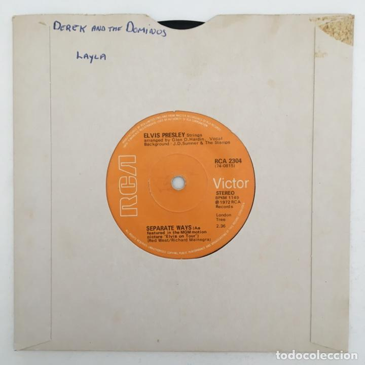 Discos de vinilo: Elvis Presley – Always On My Mind, UK 1972 RCA Victor - Foto 2 - 276227828