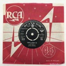 Discos de vinilo: ELVIS PRESLEY – THERE'S ALWAYS ME / JUDY, UK 1967 RCA VICTOR. Lote 276227903