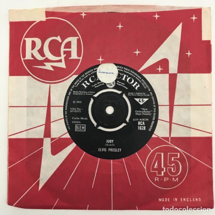 Discos de vinilo: Elvis Presley – Theres Always Me / Judy, UK 1967 RCA Victor - Foto 2 - 276227903
