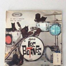 Disques de vinyle: LOS BOTINES. TE VOY A EXPLICAR. ERES UN VAGO. Lote 276237973