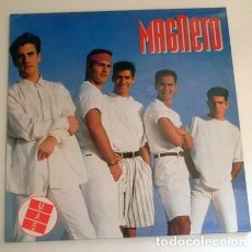 Discos de vinilo: MAGNETO - MAS - DISCO DE VINILO LP - GRUPO MEJICANO AÑOS 80 90 MÚSICA POP MÉXICO AMÉRICA ANGIE SUGAR. Lote 276243293