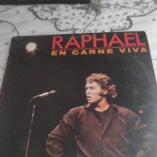 Disques de vinyle: VINILO ALBUM - RAPHAEL - EN CARNE VIVA. Lote 276258223