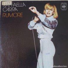 Discos de vinilo: RAFFAELLA CARRA SINGLE SELLO CBS EDITADO EN ESPAÑA AÑO 1974... Lote 276262673