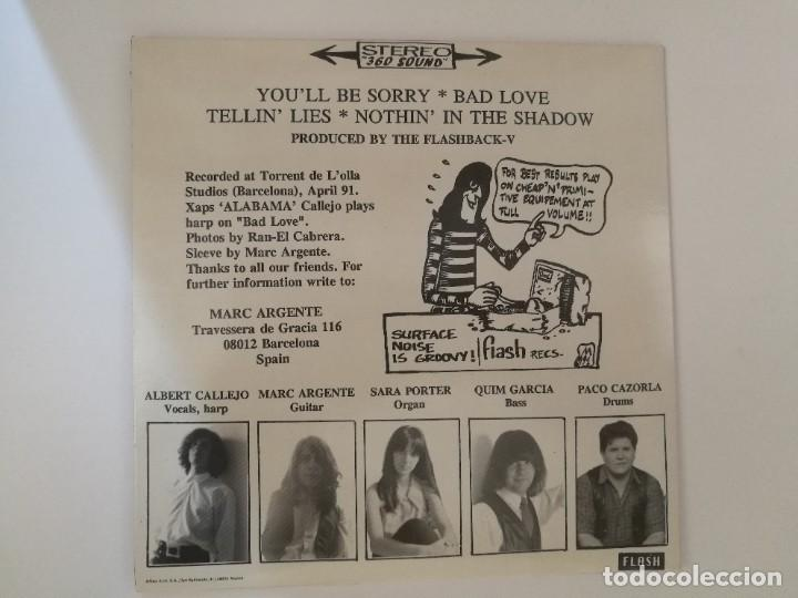 """Discos de vinilo: The FlashBack V - Youll be sorry (EP 7"""" 4 tracks) Rock garage Bcn Flash 1991 - Foto 2 - 276263068"""
