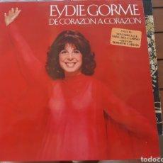 Discos de vinilo: EYDIE GORME 1988. ORIGINAL. BOLEROS DE SIEMPRE.. Lote 276265803