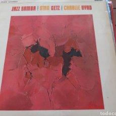 Discos de vinilo: JAZZ SAMBA. STAN GETZ. CHALIE BYRD.( LONDON ) UK. Lote 276267873