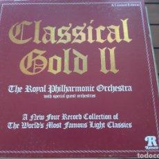 Discos de vinilo: ROYAL FILARMÓNICA ORQUESTA. 4 DISCOS DE LOS MEJORES CLÁSICOS, ESTUCHE DE LUJO 1978. UK. Lote 276269028